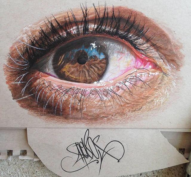 occhi pastelli realistici (5)