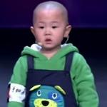 adorabile bimbo cinese 3 anni