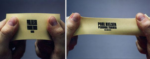 migliori idee business card geniali