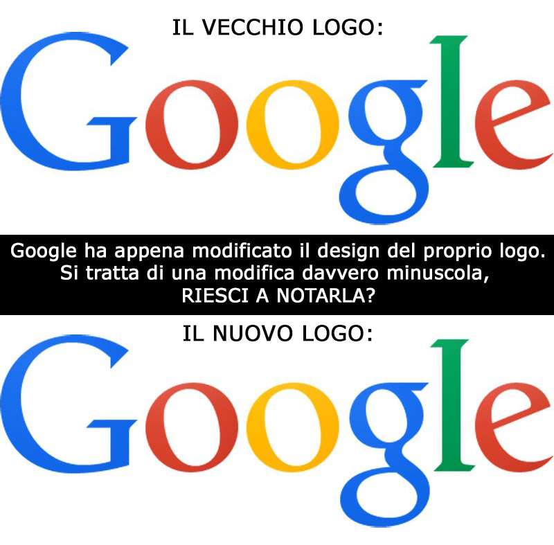 nuovo logo di google differenza