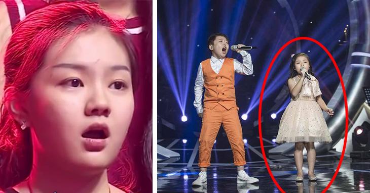 You Raise Me Up bambini cinesi cantano da paura